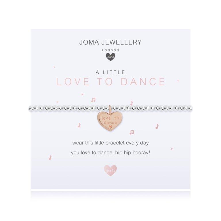 Children's A Little Love To Dance Bracelet
