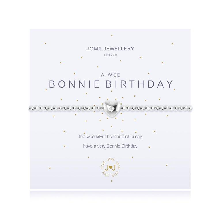 a wee Bonnie Birthday Bracelet