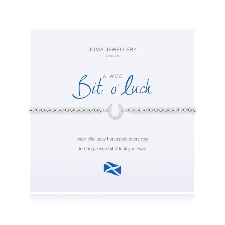 a wee Bit o' Luck Bracelet