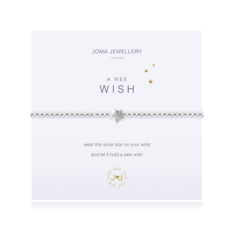 a wee Wish Bracelet