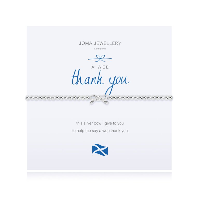 A Wee Thank You Bracelet