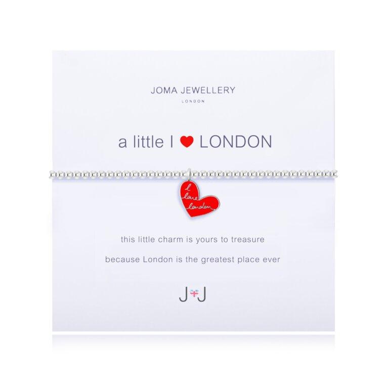 A Little I Love London Bracelet