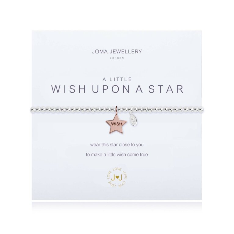 a little Wish upon a Star Bracelet