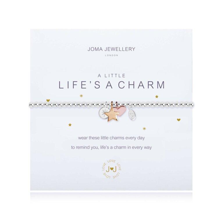 a little Life's a Charm Bracelet