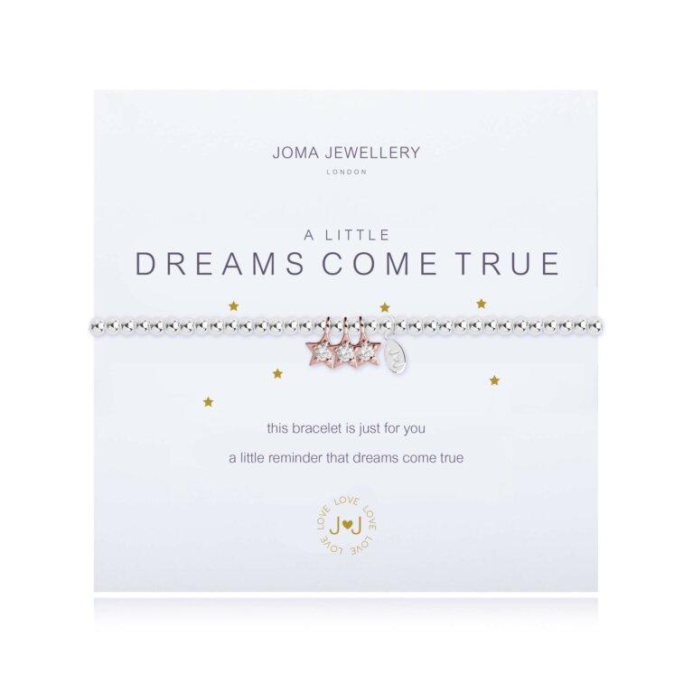 a little Dreams Come True Bracelet