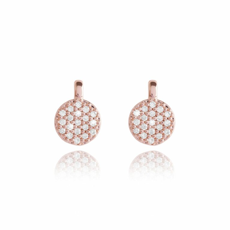 Priya Disc Earrings