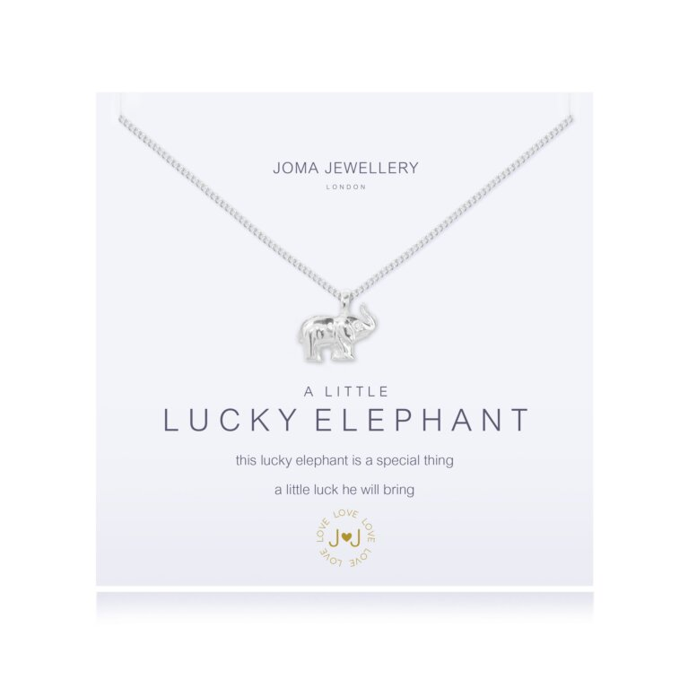 a little Lucky Elephant Necklace