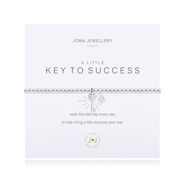 a little Key to Success Bracelet
