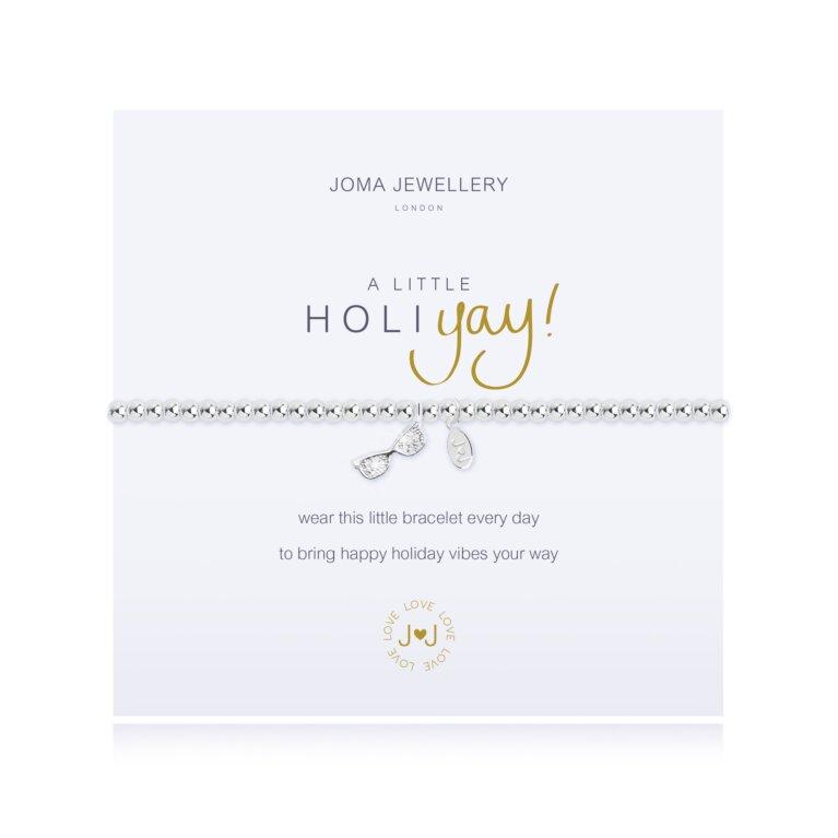 a little Holiyay Bracelet