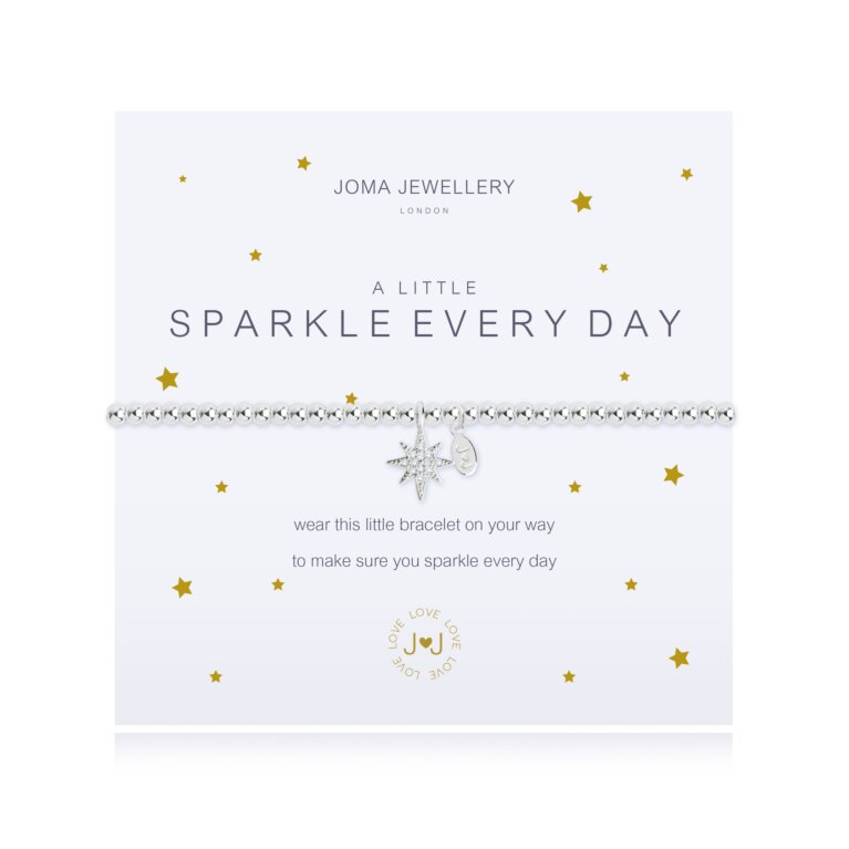 a little Sparkle every day bracelet