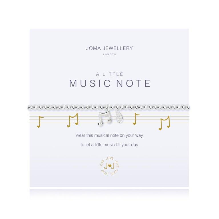 A Little Music Note Bracelet