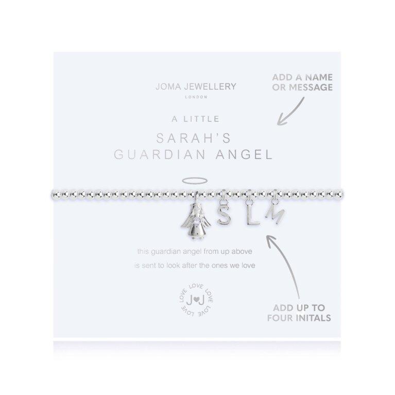 A Little Guardian Angel Silver Bracelet