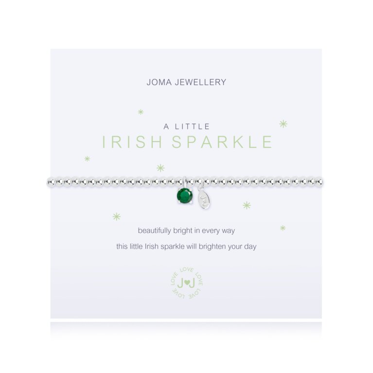 a little Irish Sparkle Bracelet