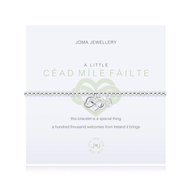 a little Cead Mile Failte Bracelet