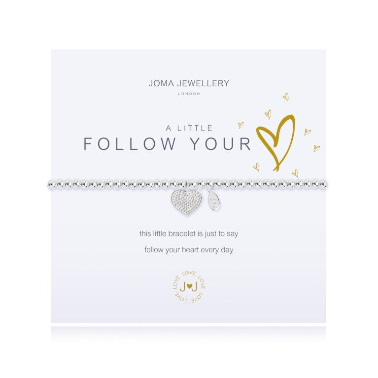 a little Follow your Heart Bracelet
