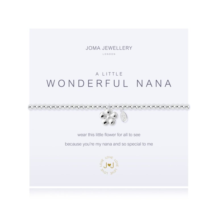 a little Wonderful Nana Bracelet