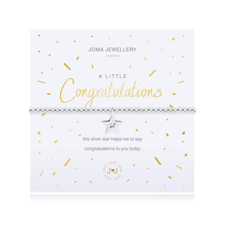 a little Congratulations Bracelet