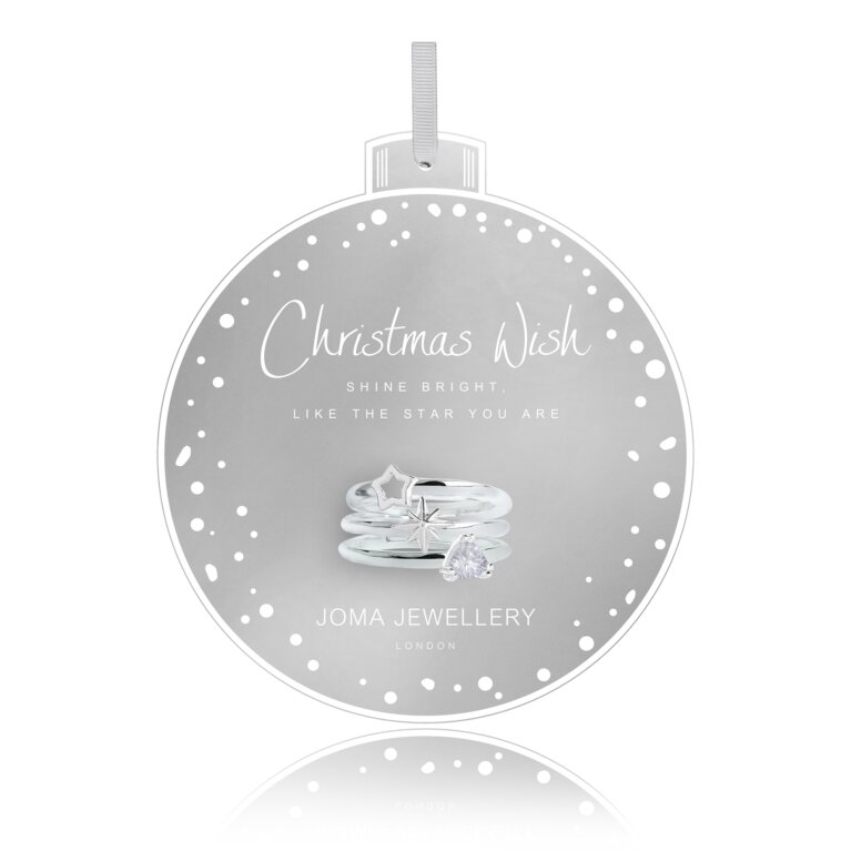 Bauble Ring Set | Christmas Wish