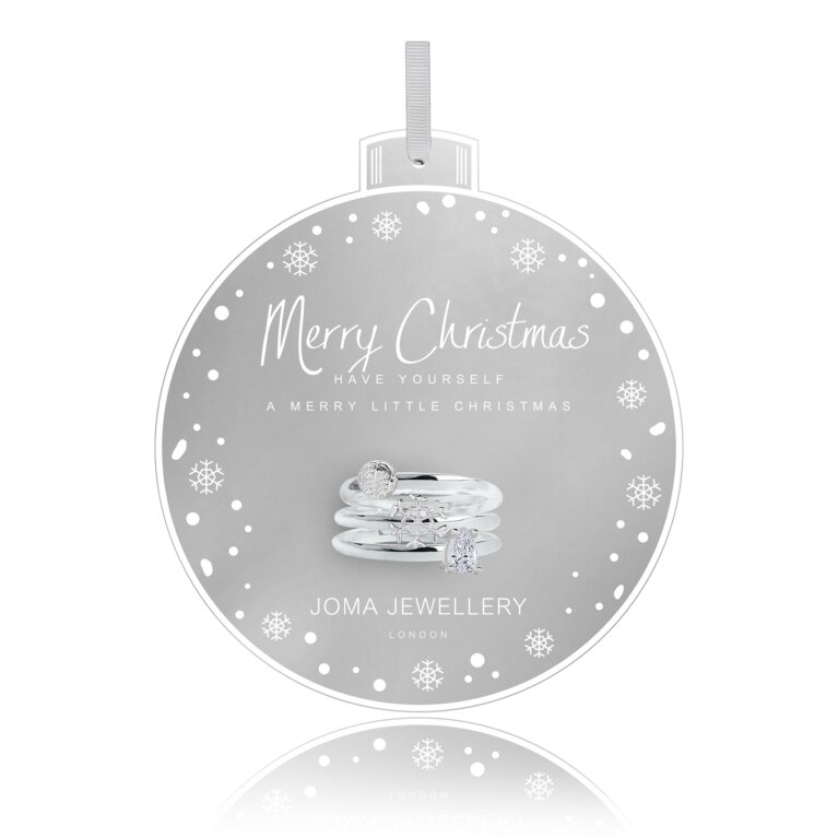 Bauble Ring Set | Merry Christmas