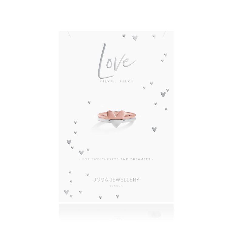 The Perfect Pair Rings | Love, Love, Love