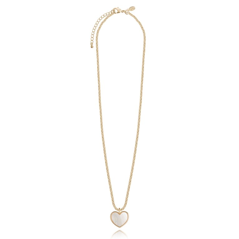 Shona Shell Heart Necklace