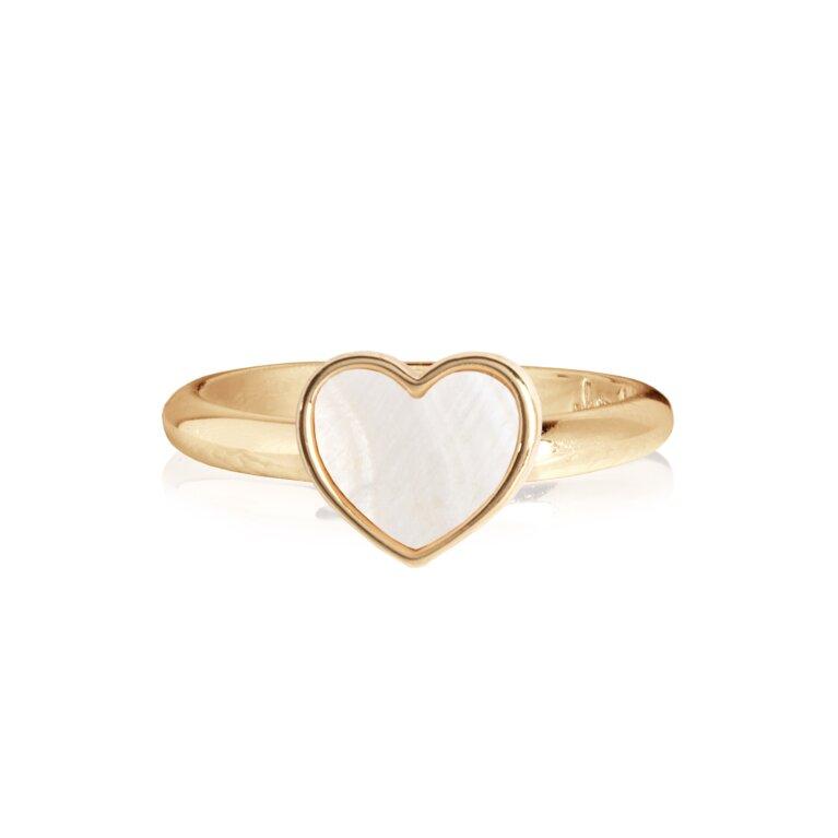 Shona Shell Heart Ring