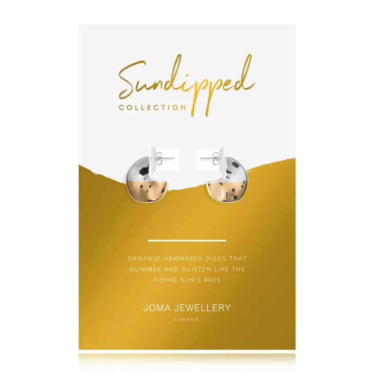 Sundipped Hoop Earrings