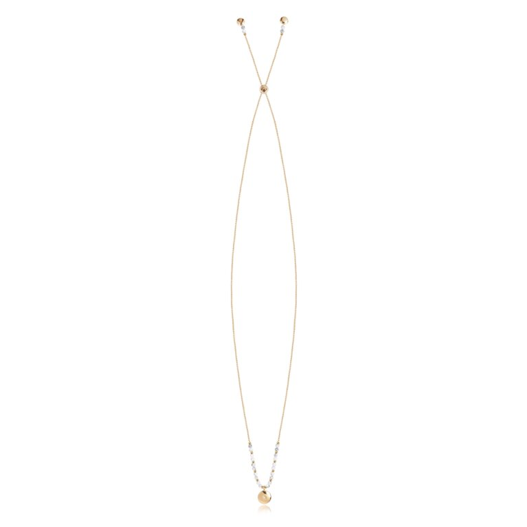 Signature Stones Necklace Gold | Karma