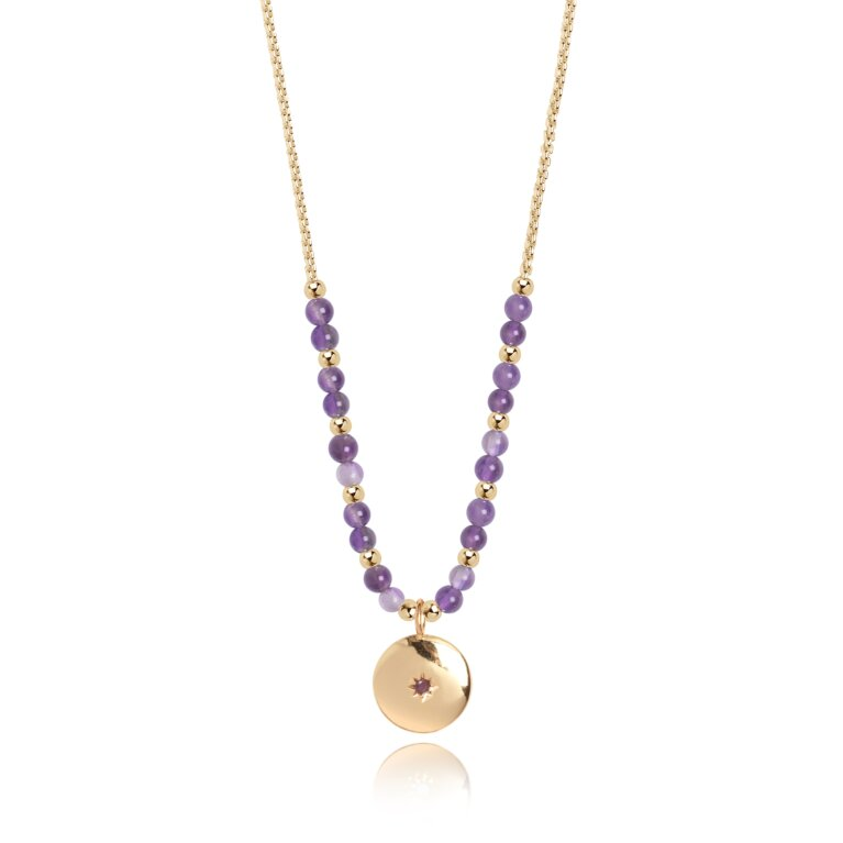 Signature Stones Necklace Gold | Family