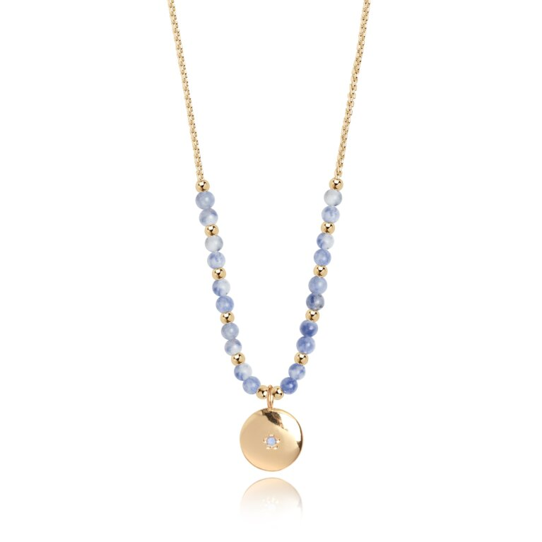 Signature Stones Necklace Gold | Friendship