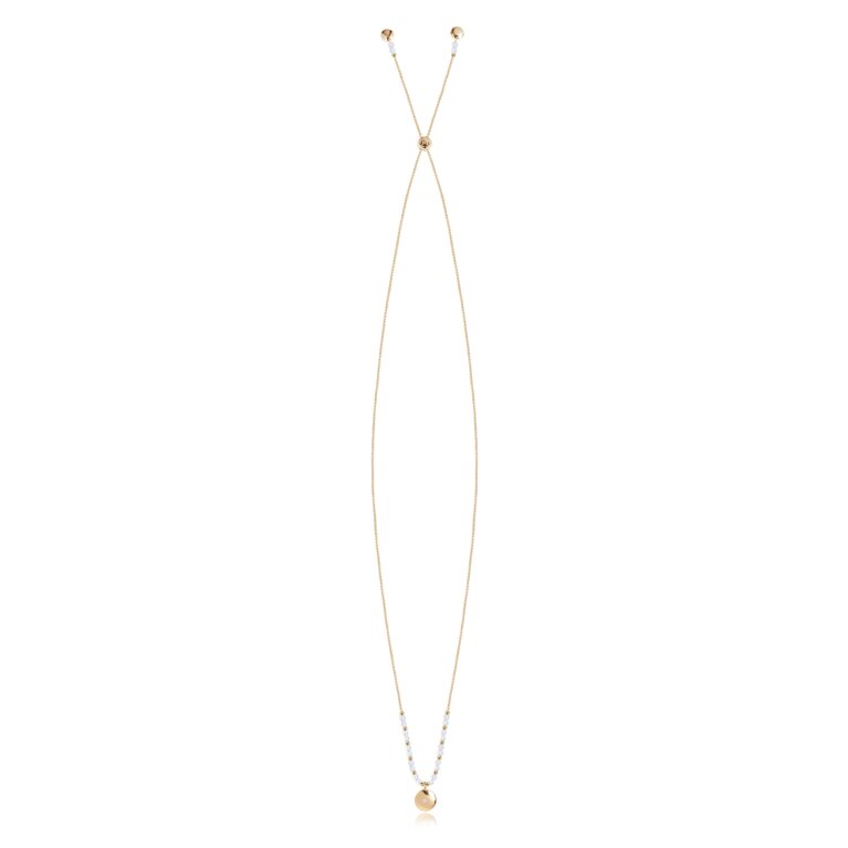 Signature Stones Necklace Gold | Shine