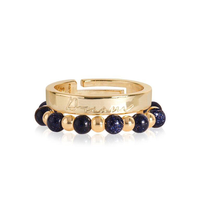 Signature Stones Rings Gold | Dream