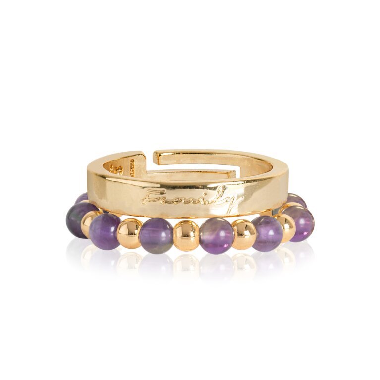 Signature Stones Rings Gold | Family
