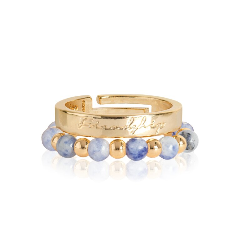 Signature Stones Rings Gold | Friendship