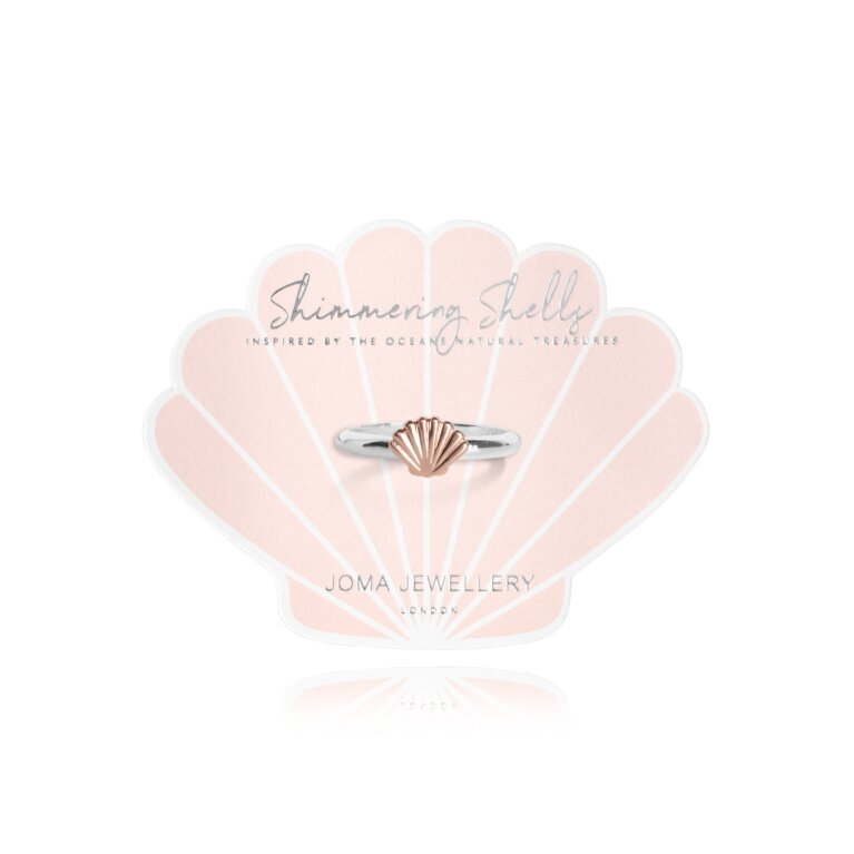 Shimmering Shell Ring