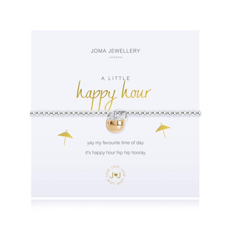a little Happy Hour Bracelet