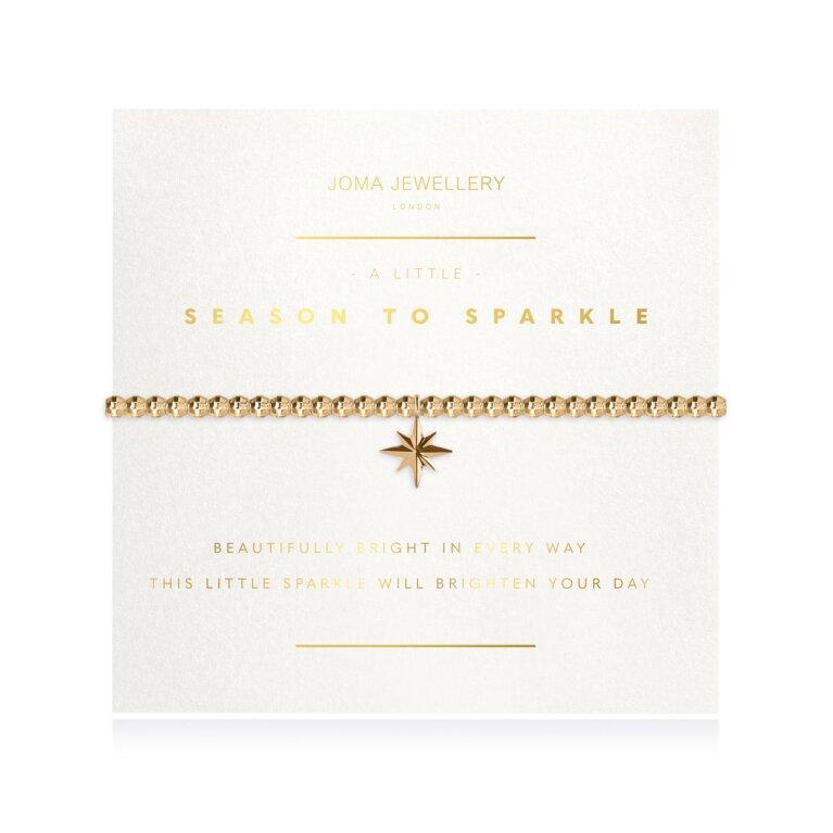 a little Season to Sparkle Faceted Bracelet