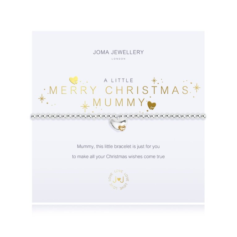 a little Merry Christmas Mummy Bracelet