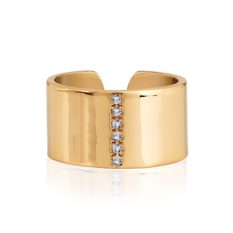 Aztek Cuff Ring