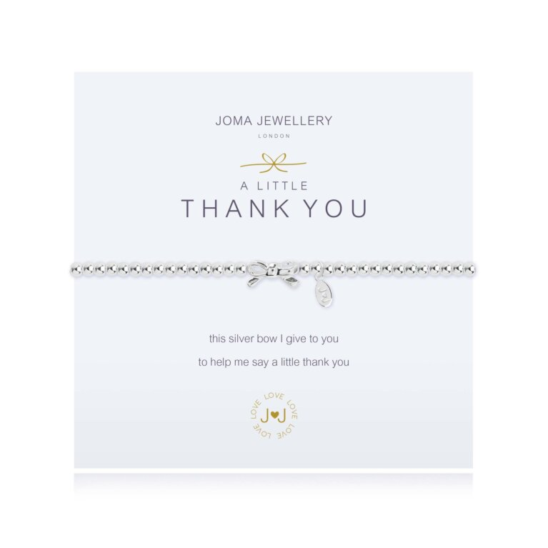 a little Thank you Bracelet