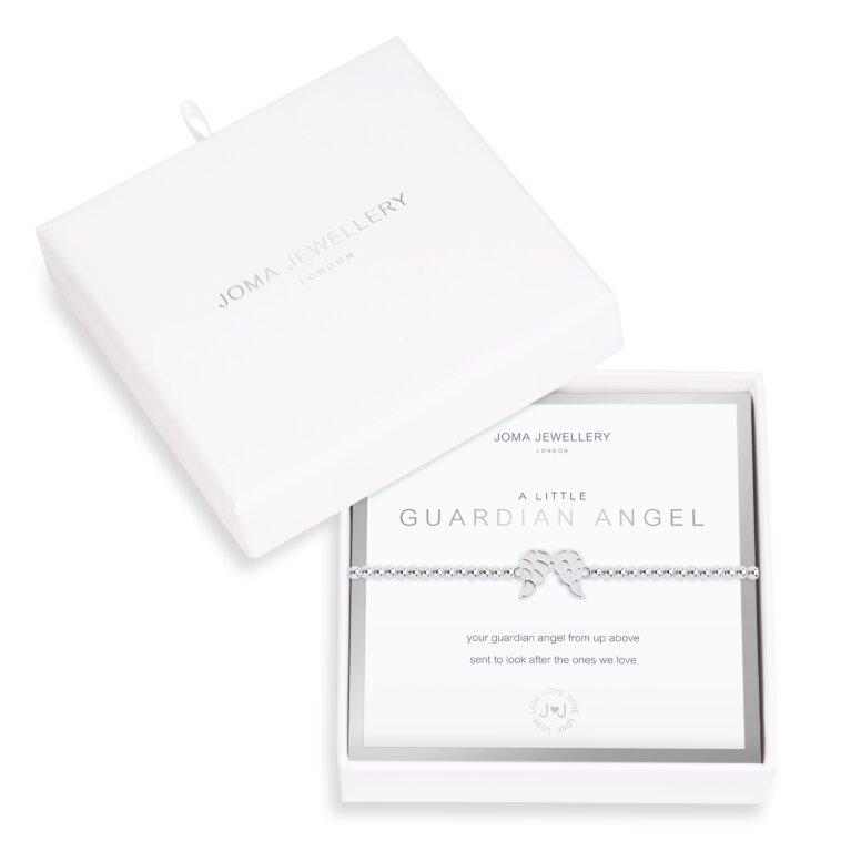 Beautifully Boxed A Little Guardian Angel Wings Bracelet