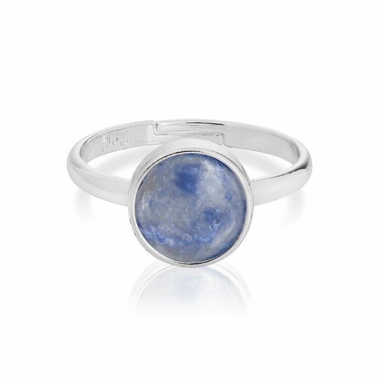 Signature Stones Blue Lace Agate Ring
