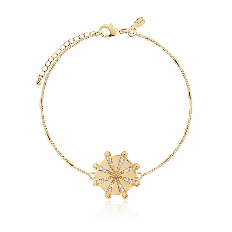 Mayan Pendant Bracelet