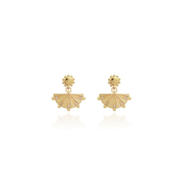 Mayan Dangle Earrings