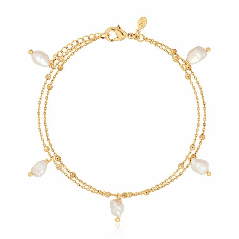 Isla Pearl Multi Pearl Bracelet