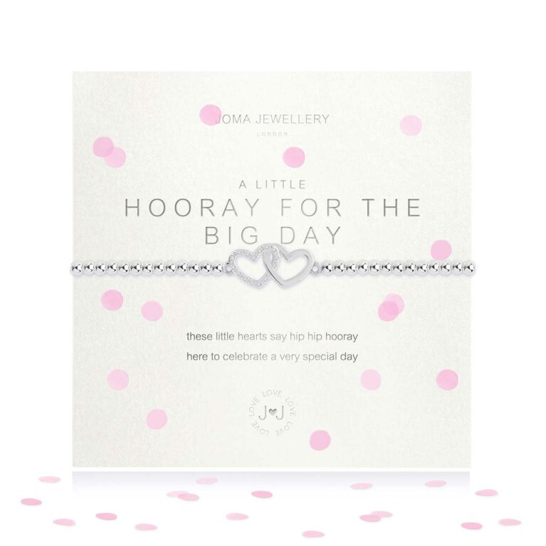 a little Hooray For The Big Day Bracelet
