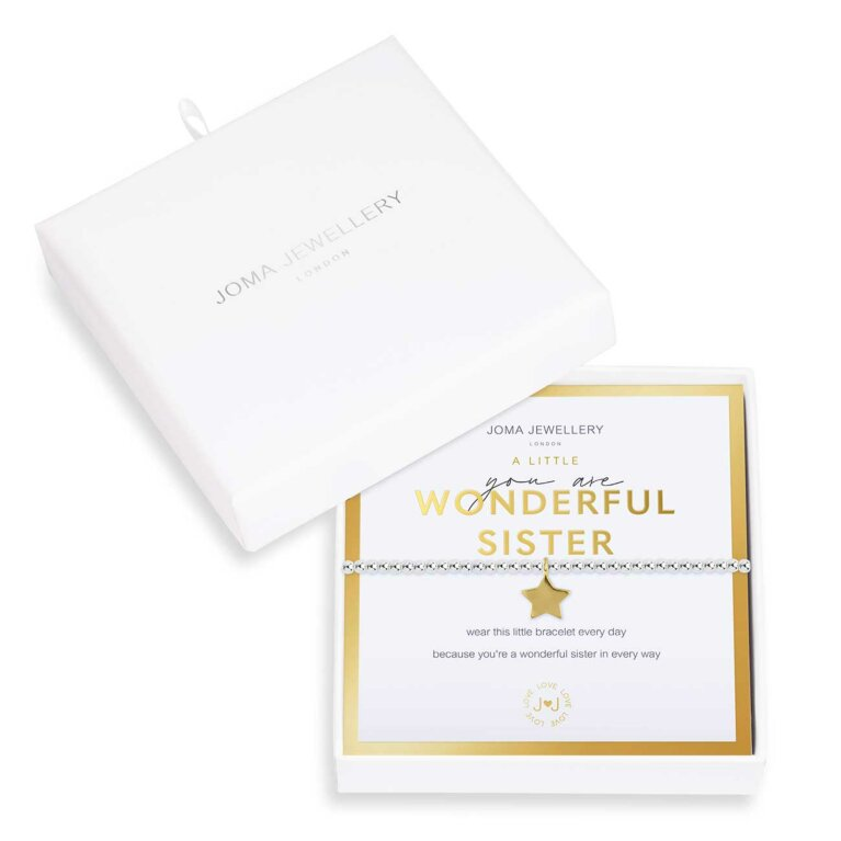 Beautifully Boxed A Littles | You Are Wonderful Sister