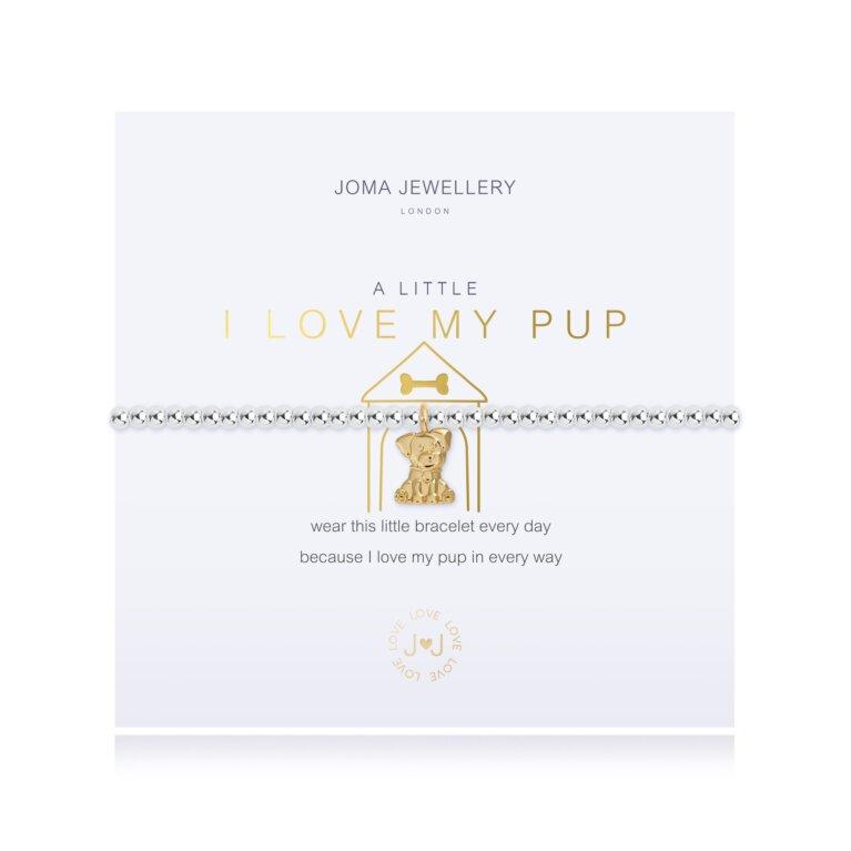 A Little I Love My Pup Bracelet