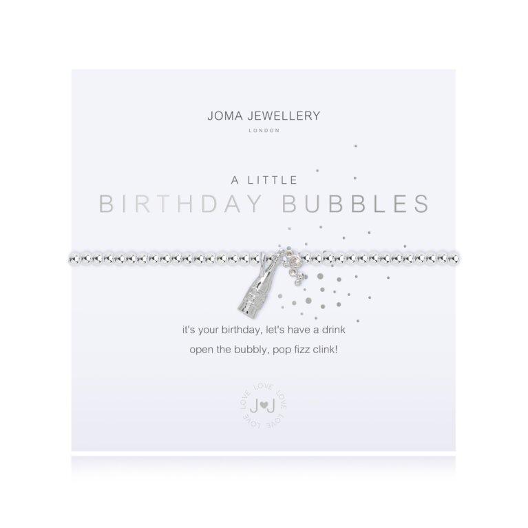 A Little Birthday Bubbles Bracelet