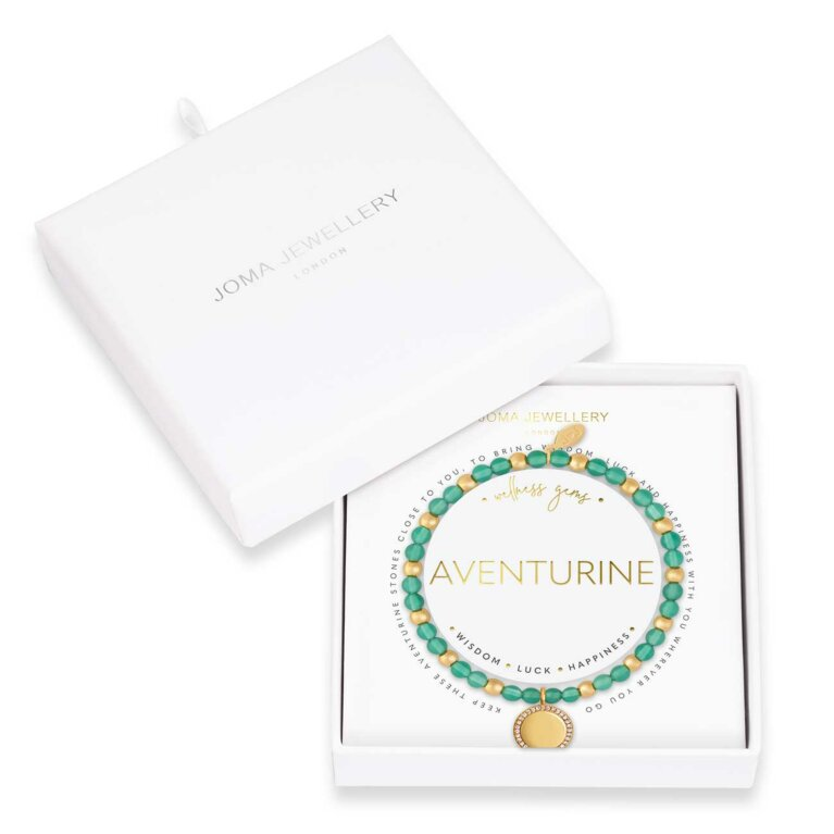 Wellness Gems | Adventurine Bracelet